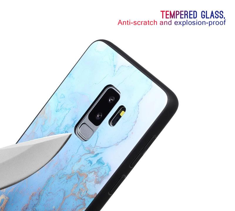 Samsung Galaxy S9 Plus Marble Case