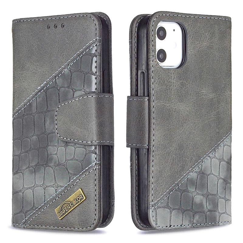 Binfen Color iPhone 12 Mini Leather Case