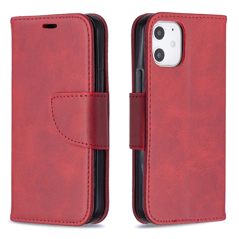 Binfen Color iPhone 12 Leather Case