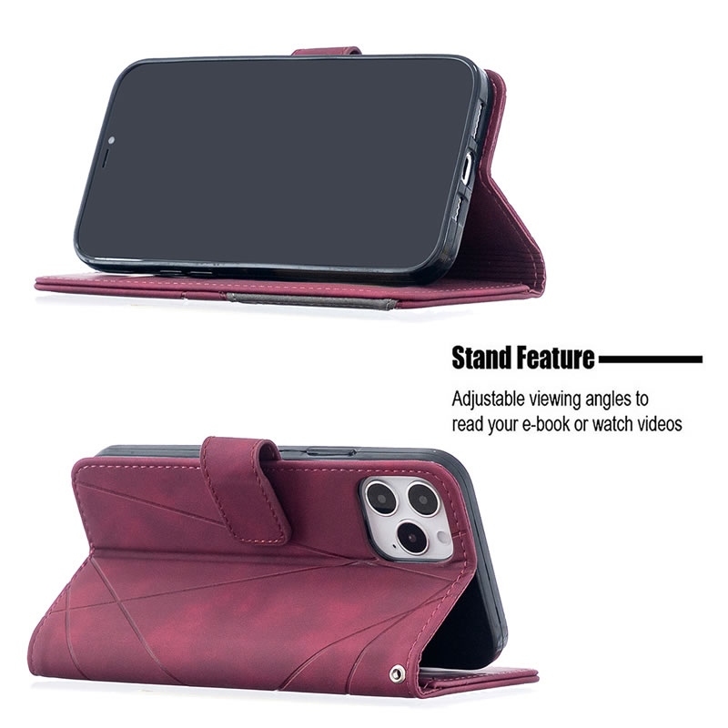 Binfen Color iPhone 12 Pro Max Leather Case