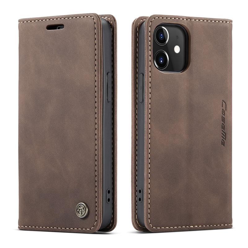 CaseMe iPhone 12 Mini Leather Wallet Case