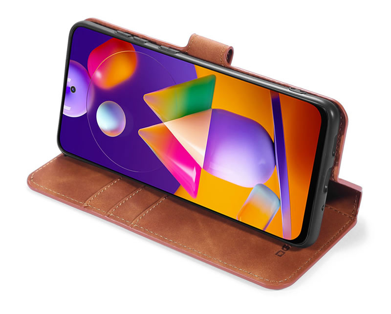 DG.MING Samsung Galaxy M31s Retro Case