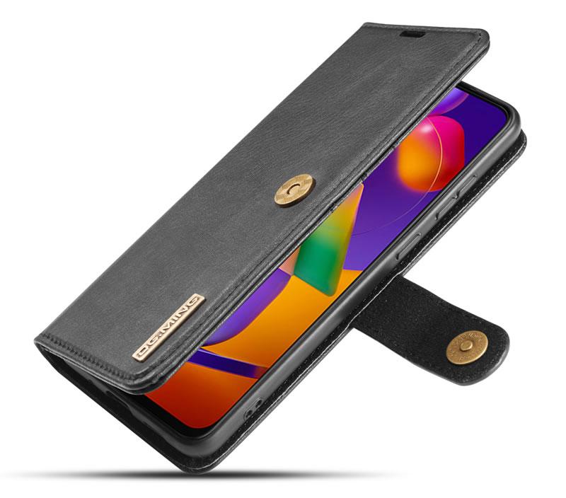 DG.MING Samsung Galaxy M31s Wallet Case