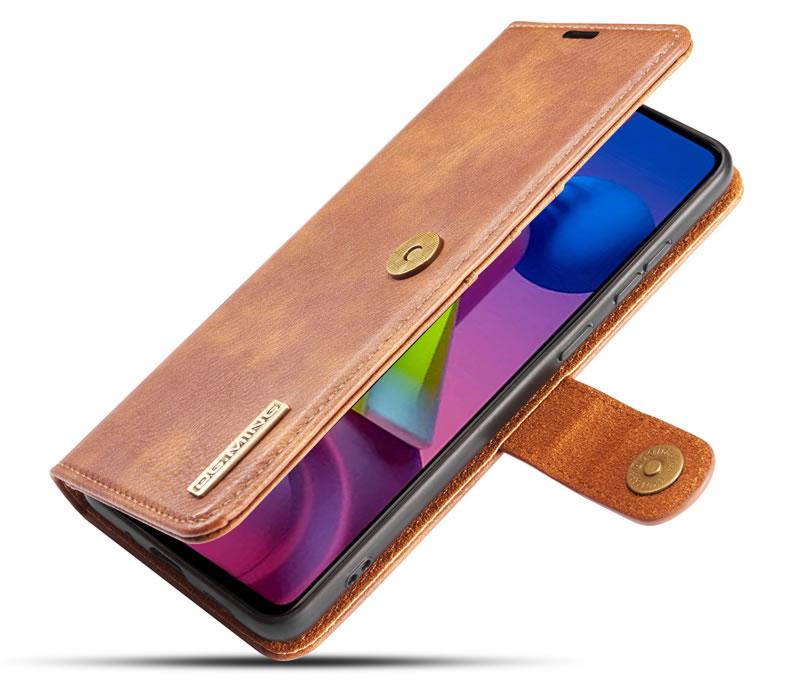 DG.MING Samsung Galaxy M51 Wallet Case