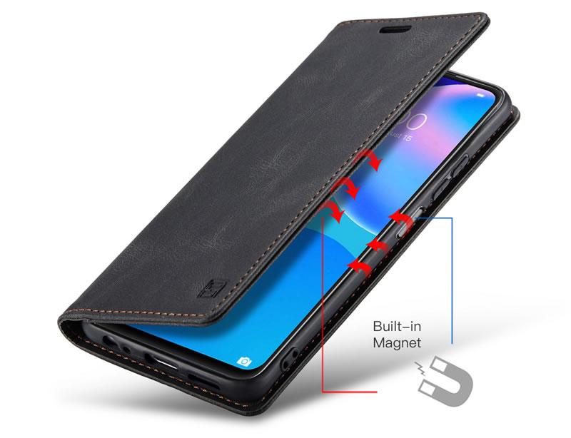 AutSpace Huawei P Smart 2021 Leather Wallet Case
