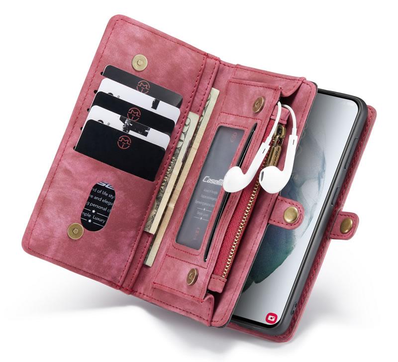 CaseMe Samsung Galaxy S21 Ultra Wallet Case