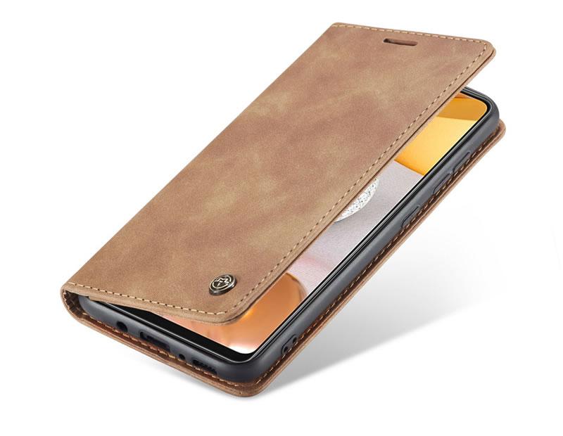 CaseMe Samsung Galaxy A42 5G Leather Wallet Case