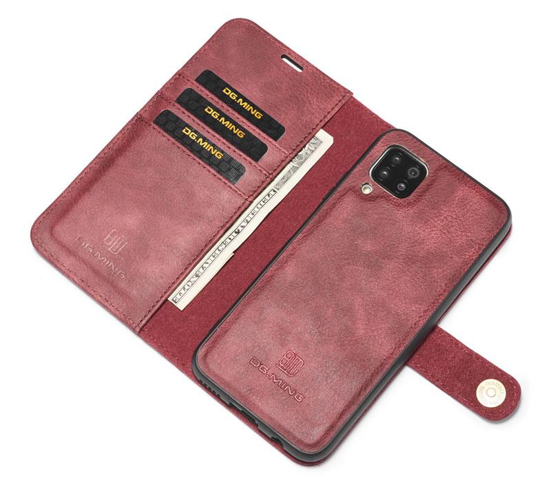 DG.MING Samsung Galaxy A42 5G Wallet Case