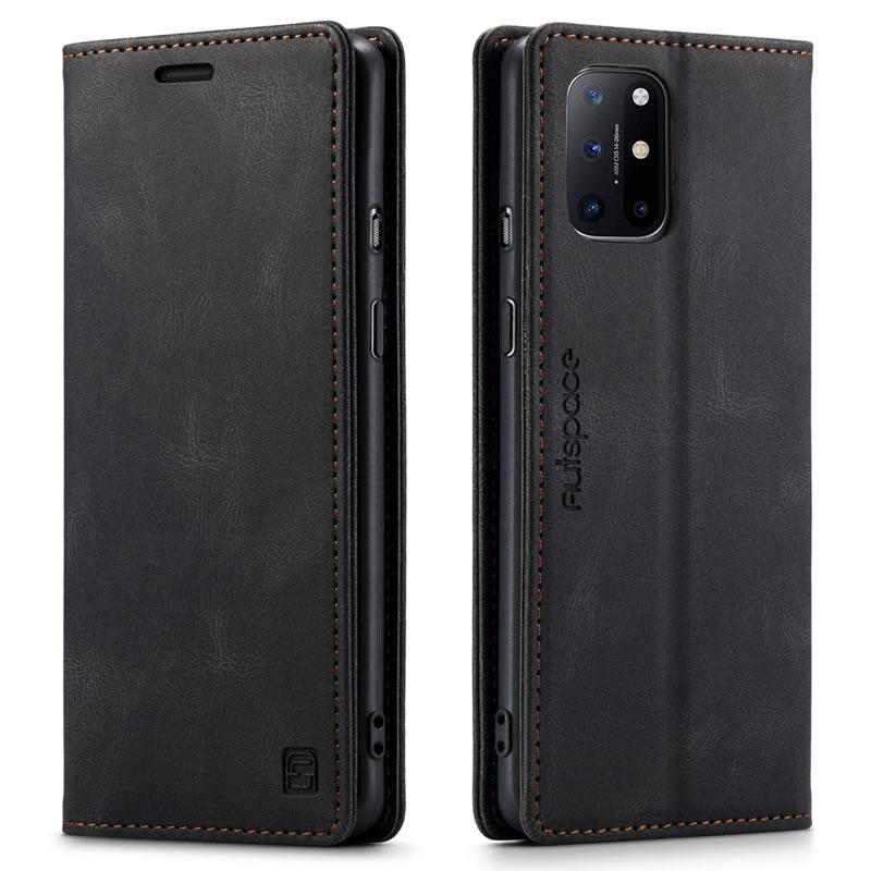 AutSpace OnePlus 8T Leather Wallet Case