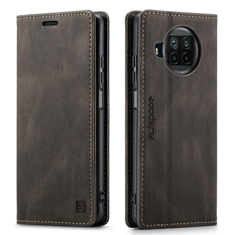 AutSpace Xiaomi Mi 10T Lite Leather Wallet Case