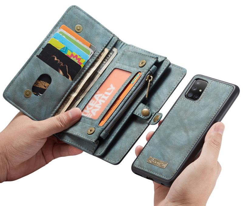 CaseMe Samsung Galaxy A71 Wallet Case