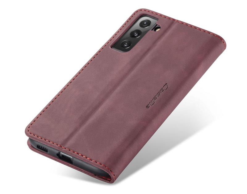 CaseMe Samsung Galaxy S21 Plus Leather Wallet Case