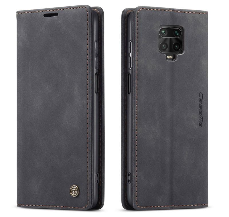 CaseMe Xiaomi Redmi Note 9 Pro Max Leather Wallet Case