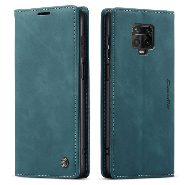 CaseMe Xiaomi Redmi Note 9s Leather Wallet Case
