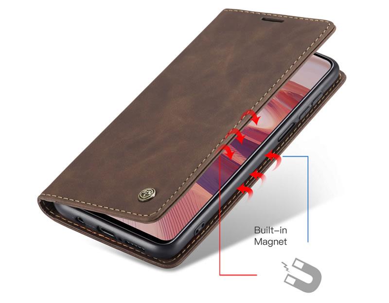 CaseMe Xiaomi Redmi Note 9 Pro Leather Wallet Case