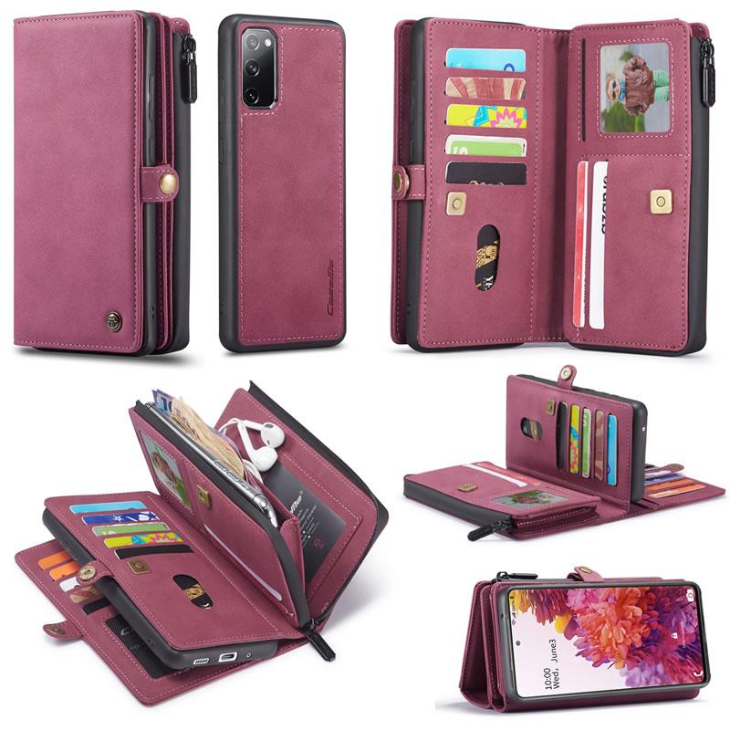 CaseMe Samsung Galaxy S20 FE Wallet Case