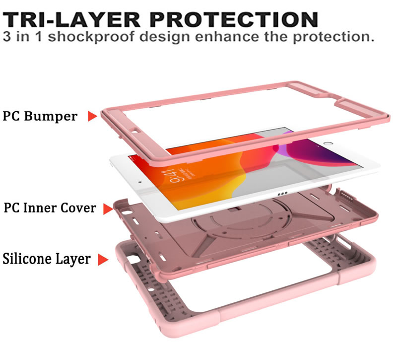 iPad 10.2 Inch Heavy Duty Case