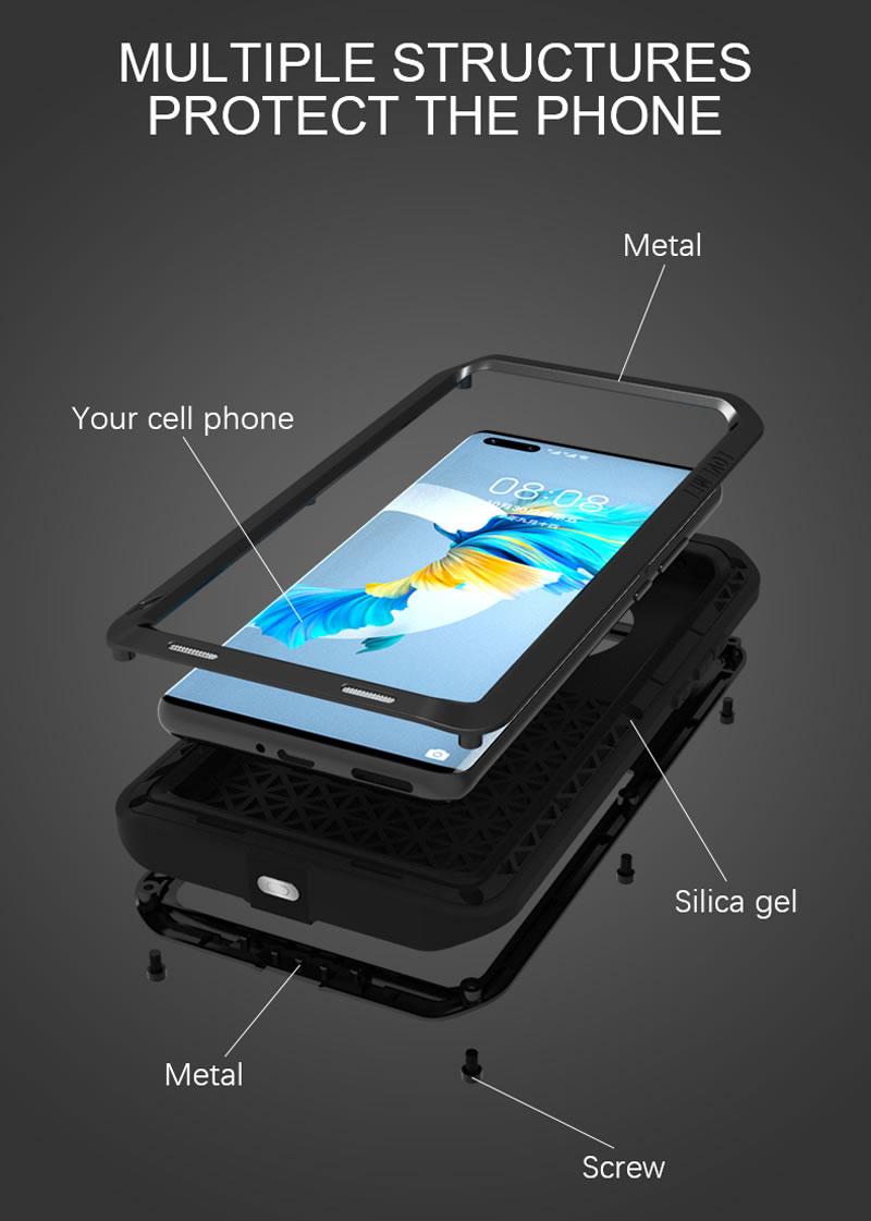 Love Mei Powerful Huawei Mate 40 Case