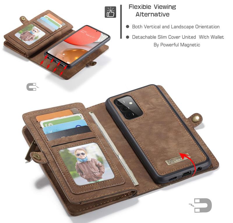 CaseMe Samsung Galaxy A72 5G Wallet Case