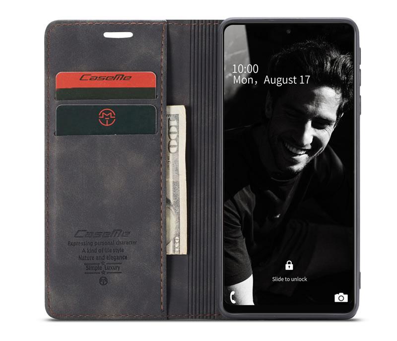 CaseMe Samsung Galaxy A72 5G Leather Wallet Case