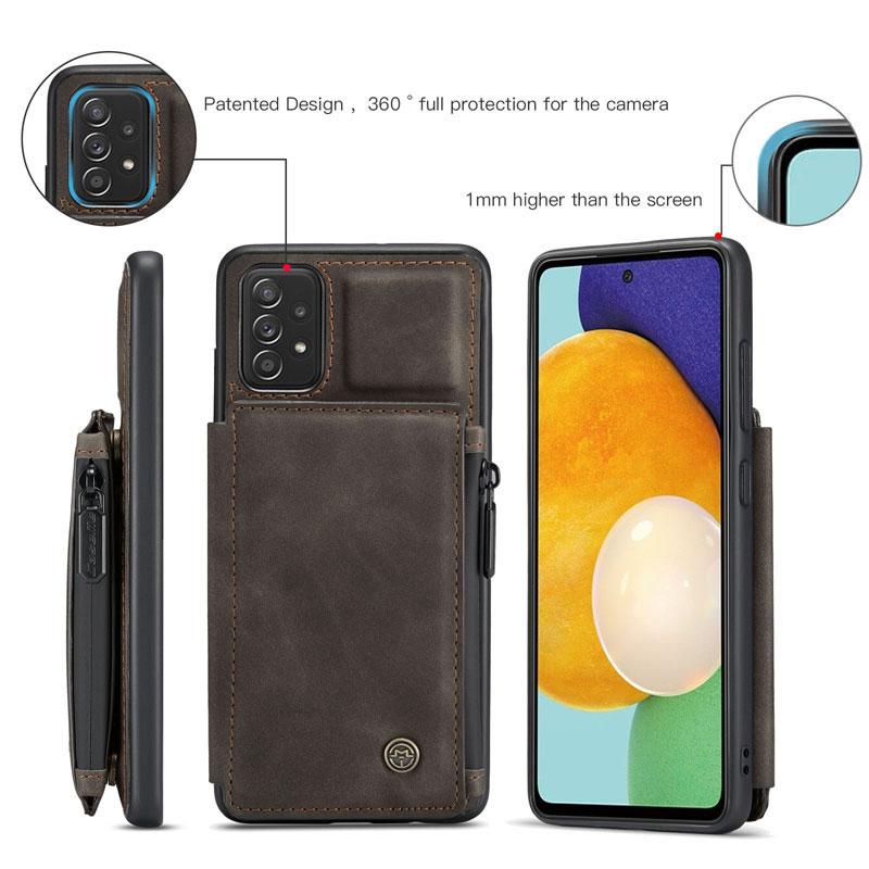 CaseMe Samsung Galaxy A52 5G Leather Wallet Case