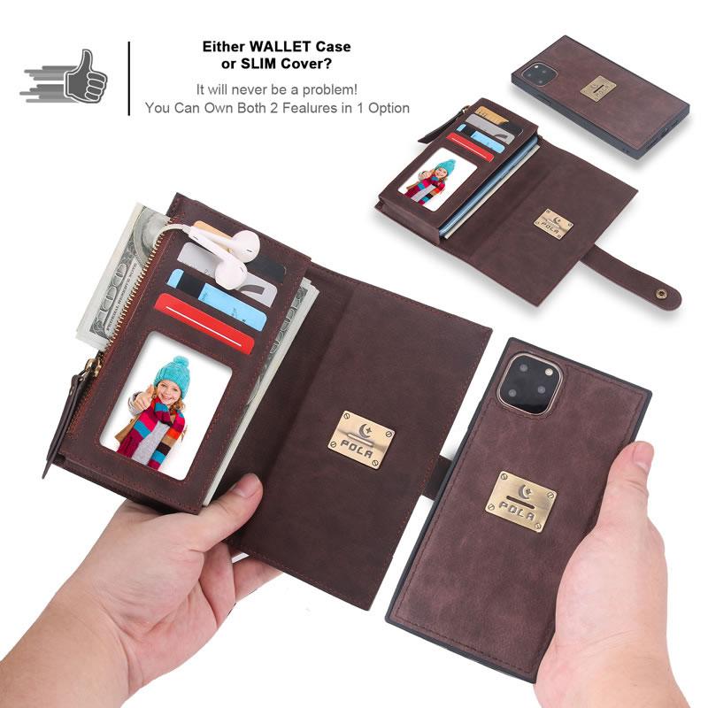 POLA iPhone 11 Pro Wallet Case