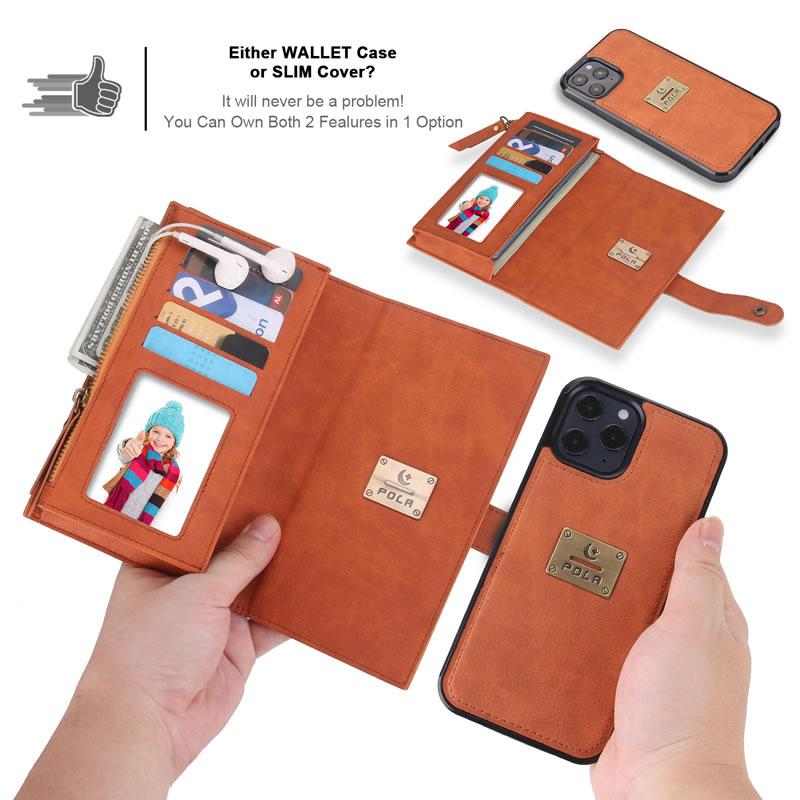 POLA iPhone 12 Pro Wallet Case