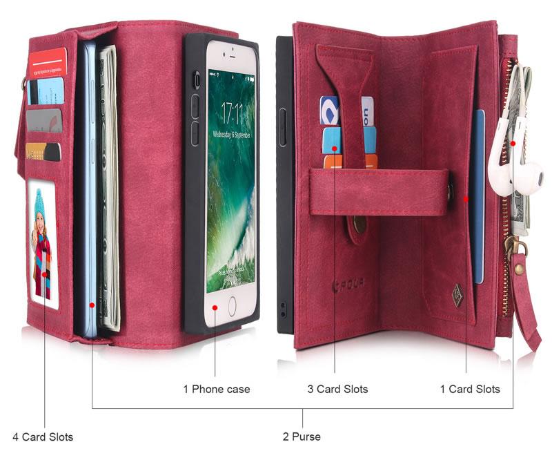 POLA iPhone SE 2020 Wallet Case
