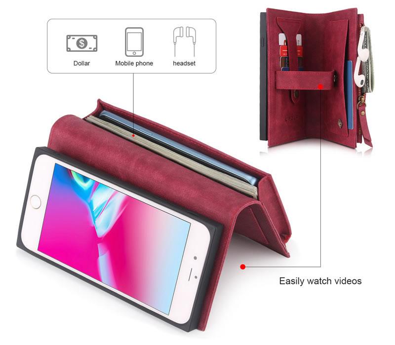 POLA iPhone 7 Plus Wallet Case