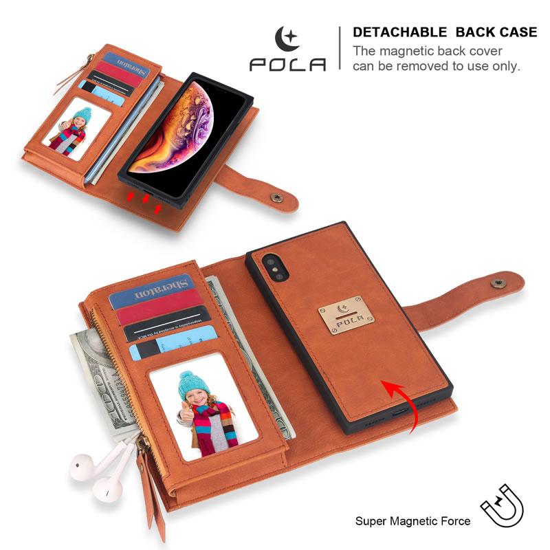 POLA iPhone X Wallet Case