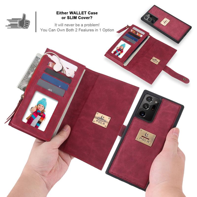 POLA Samsung Galaxy Note 20 Wallet Case