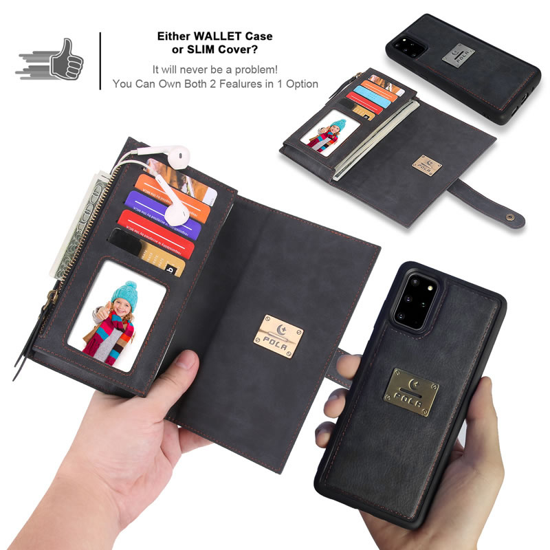 POLA Samsung Galaxy S20 Wallet Case
