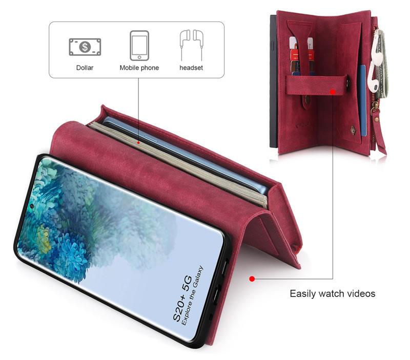 POLA Samsung Galaxy S20 Plus Wallet Case