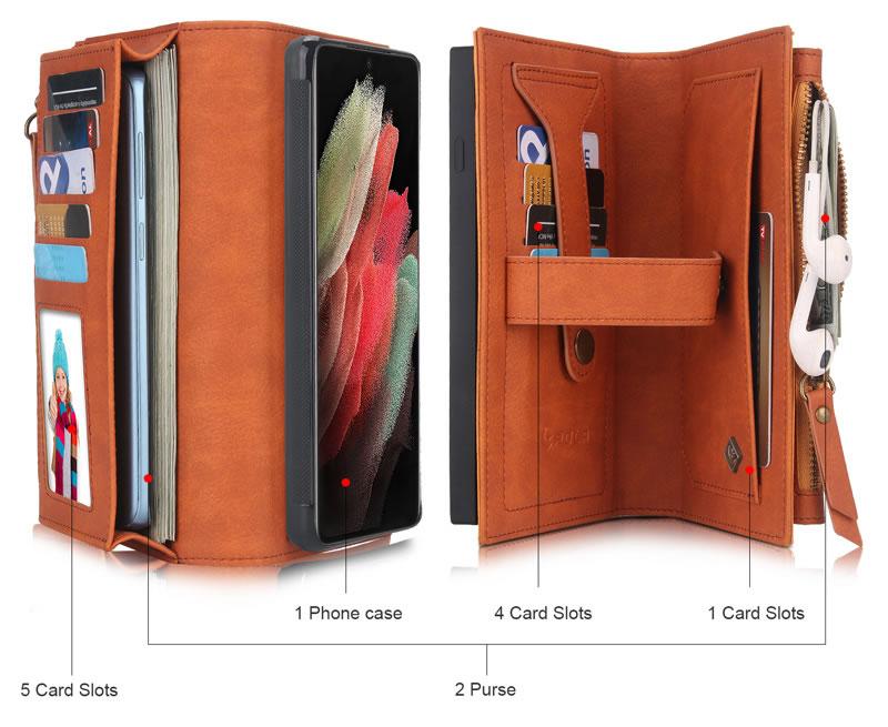 POLA Samsung Galaxy S21 Wallet Case