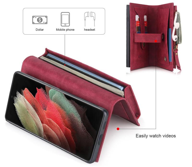 POLA Samsung Galaxy S21 Ultra Wallet Case