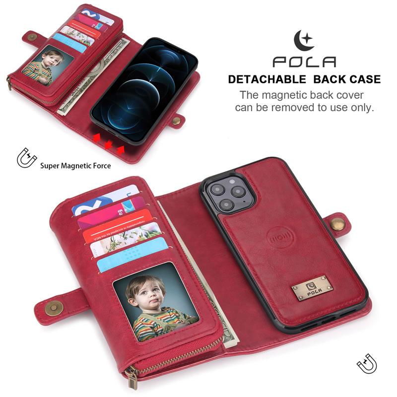 POLA iPhone 12 Mini Wallet Case