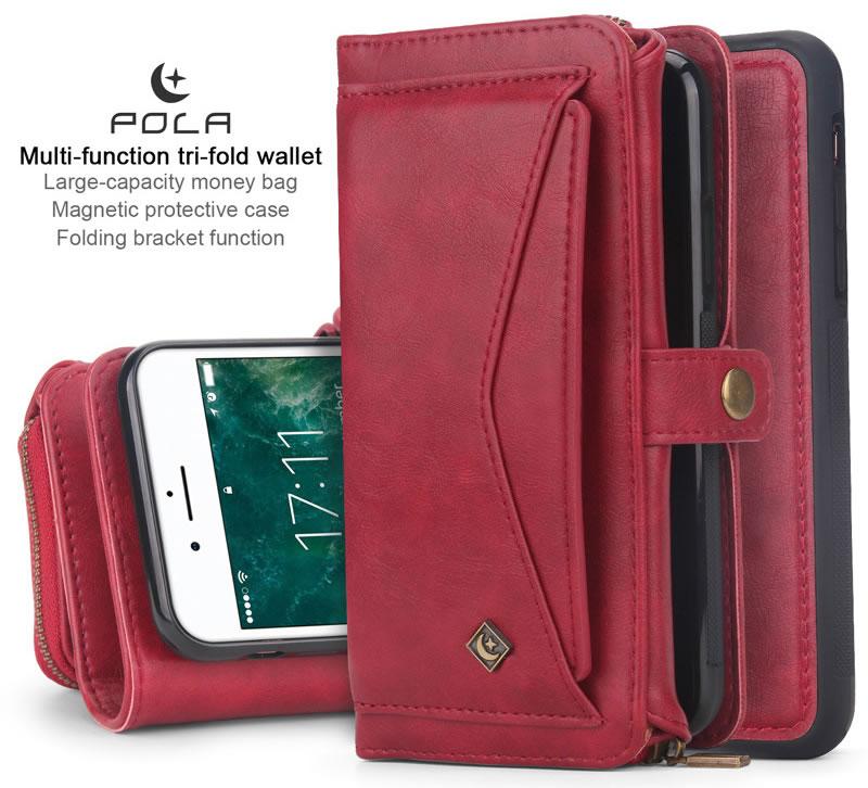 POLA iPhone 8 Wallet Case