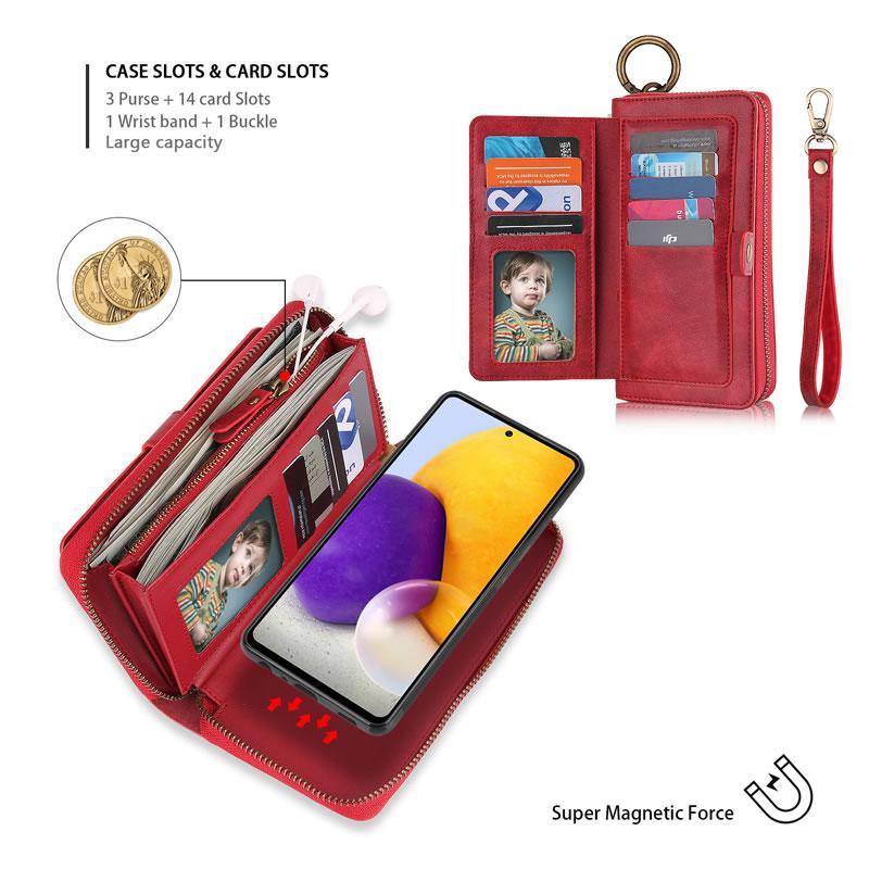 POLA Samsung Galaxy A52 5G Wallet Case