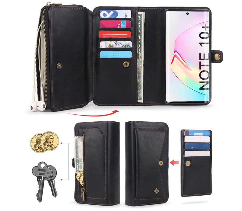 POLA Samsung Galaxy Note 10 Plus Wallet Case