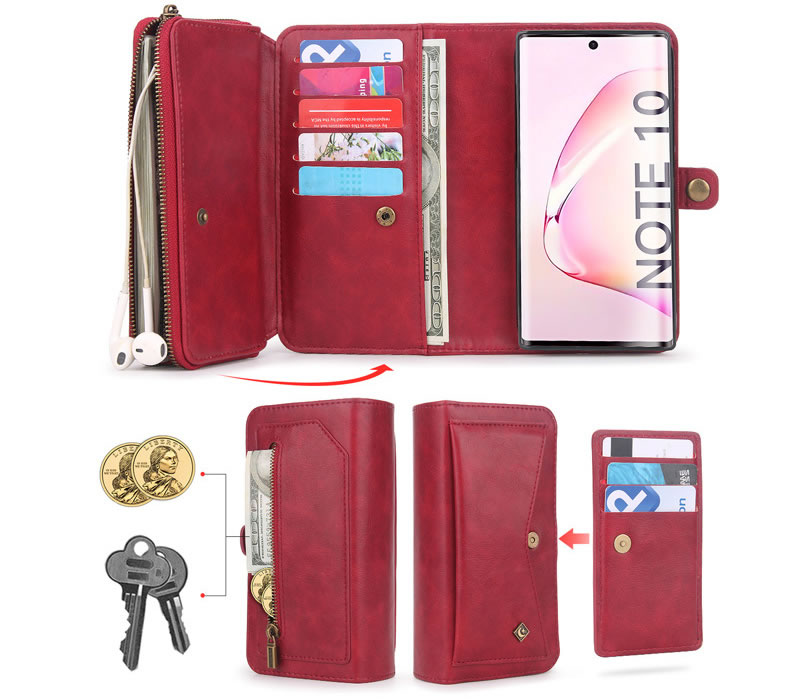 POLA Samsung Galaxy Note 10 Wallet Case
