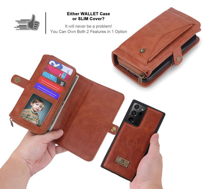 POLA Samsung Galaxy Note 20 Ultra Wallet Case