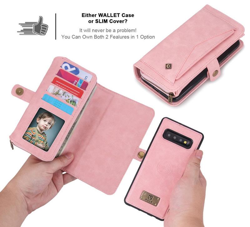 POLA Samsung Galaxy S10 Plus Wallet Case