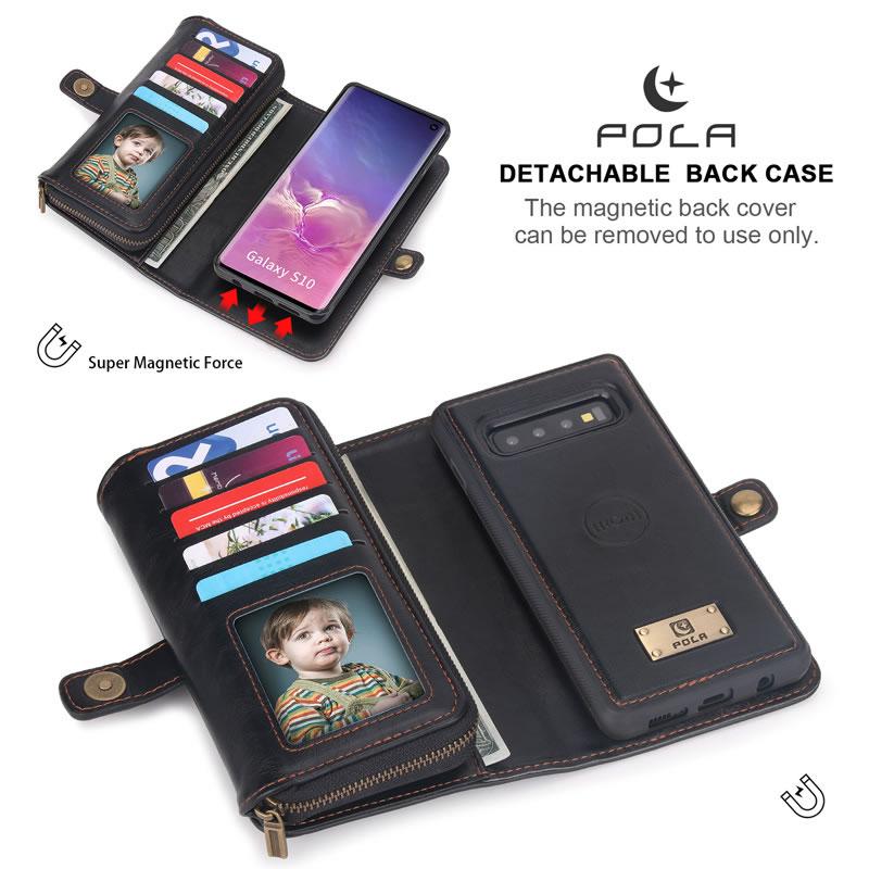 POLA Samsung Galaxy S10 Wallet Case