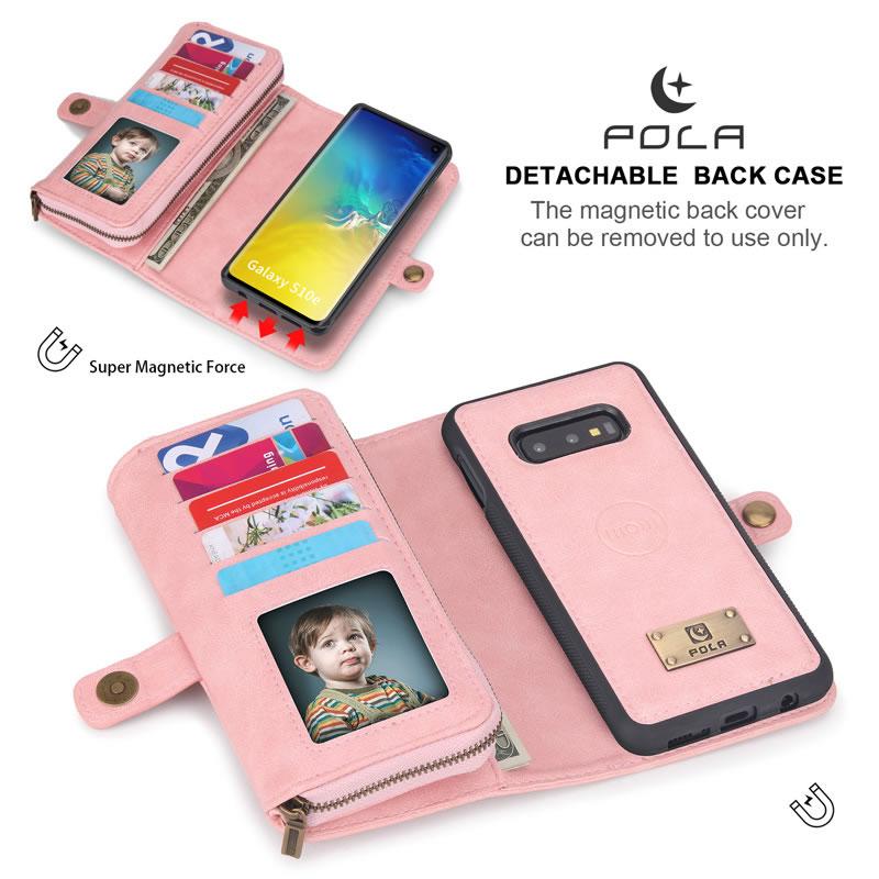 POLA Samsung Galaxy S10e Wallet Case