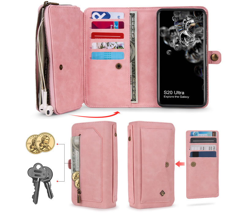 POLA Samsung Galaxy S20 Ultra Wallet Case