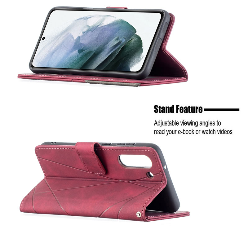 Binfen Color Samsung Galaxy S21 FE Leather Case