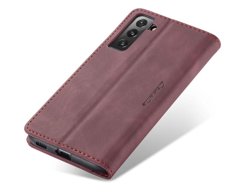 CaseMe Samsung Galaxy S21 FE Leather Wallet Case