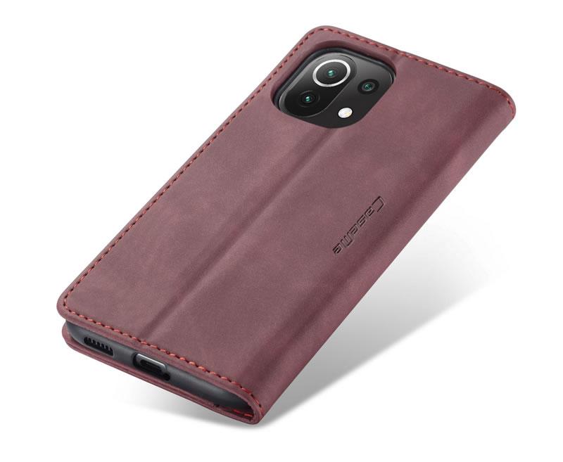 CaseMe Xiaomi Mi 11 Lite Leather Wallet Case