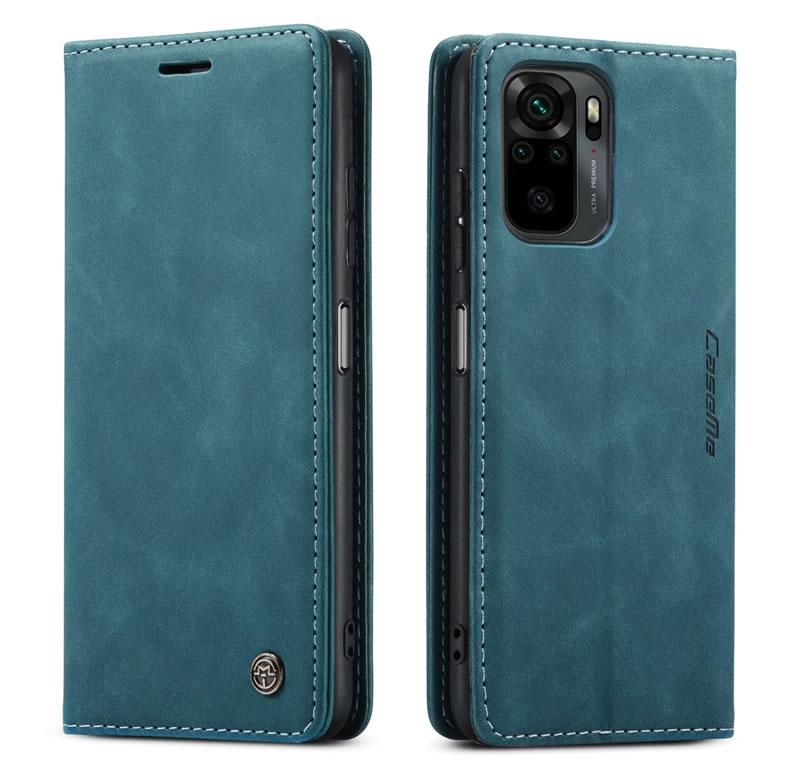 CaseMe Xiaomi Redmi Note 10 4G Leather Wallet Case