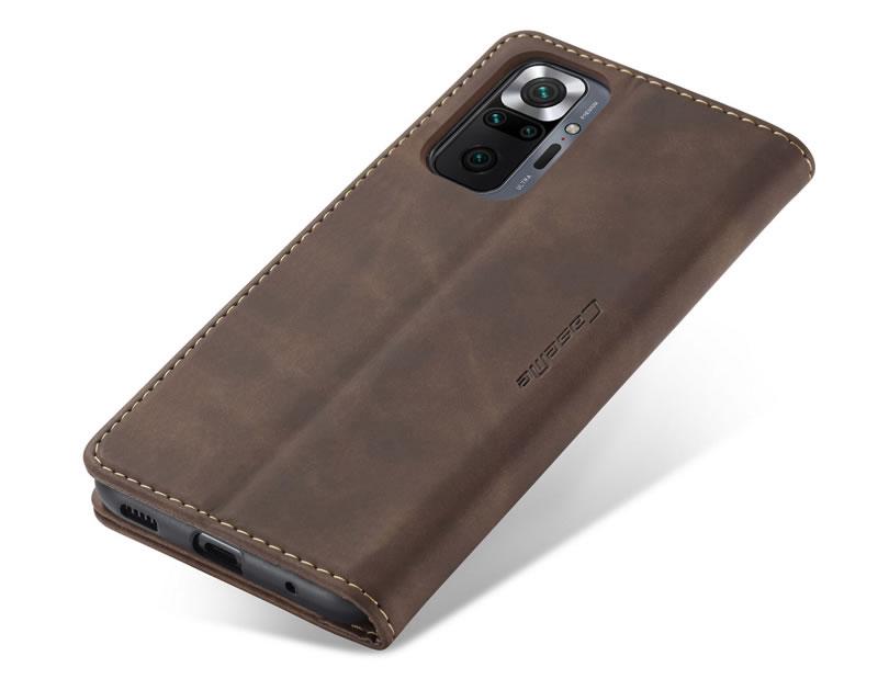 CaseMe Xiaomi Redmi Note 10 Pro Max Leather Wallet Case